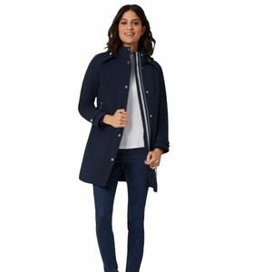 🆕NWT Laura Petites Blue Winter Jacket, Size Small